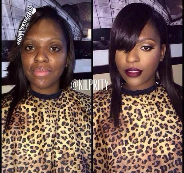 Briesmīgais skaistums. 9 ekstremālā make-up piemēri 3