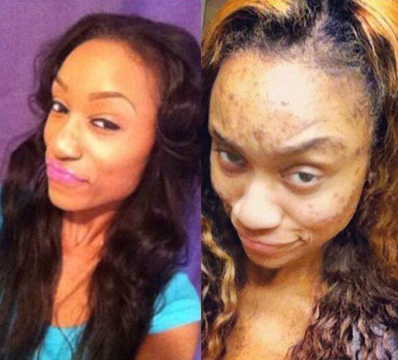 Briesmīgais skaistums. 9 ekstremālā make-up piemēri 2