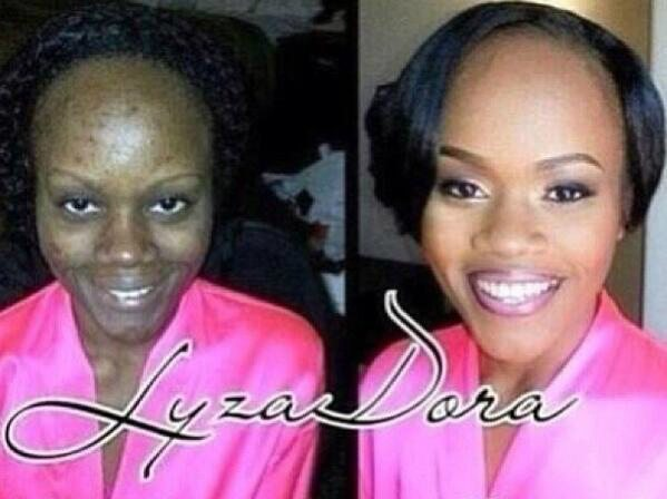 Briesmīgais skaistums. 9 ekstremālā make-up piemēri 8