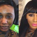 Briesmīgais skaistums. 9 ekstremālā make-up piemēri 5