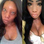 Briesmīgais skaistums. 9 ekstremālā make-up piemēri 1