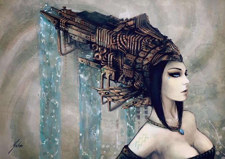 Sieviete - Ūdensvīrs. Mīl eksperimentēt un uzzināt daudz jauna