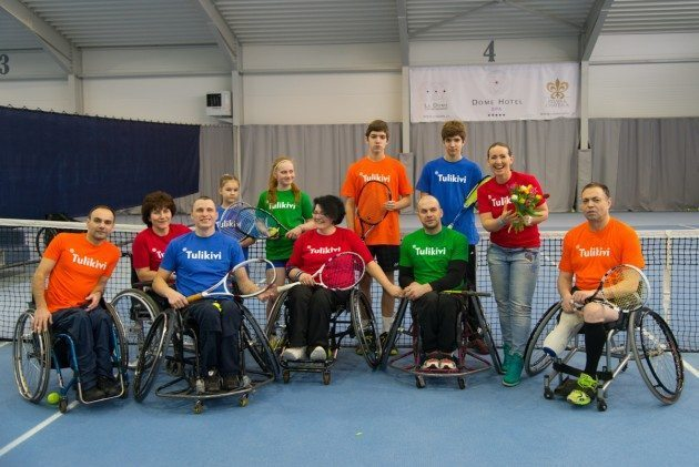 Ar Baltijas ratiņtenisa kausu Rīgā tiks atklāti  īpaši cilvēkiem ratiņkrēslos pielāgoti tenisa korti