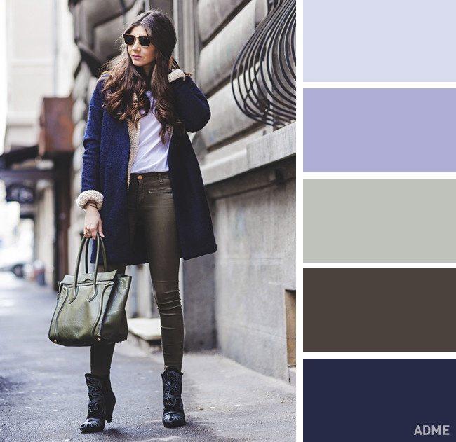 15 veiksmīgākie krāsu salikumi ziemas apģērbā 11