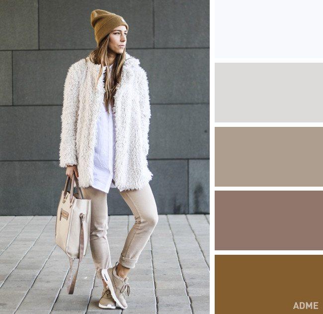 15 veiksmīgākie krāsu salikumi ziemas apģērbā 14