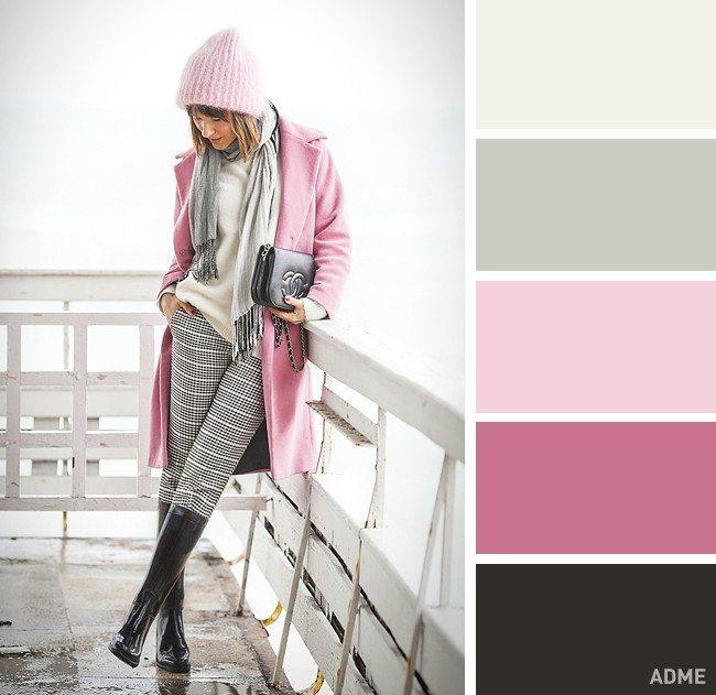 15 veiksmīgākie krāsu salikumi ziemas apģērbā 16