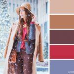 15 veiksmīgākie krāsu salikumi ziemas apģērbā 3