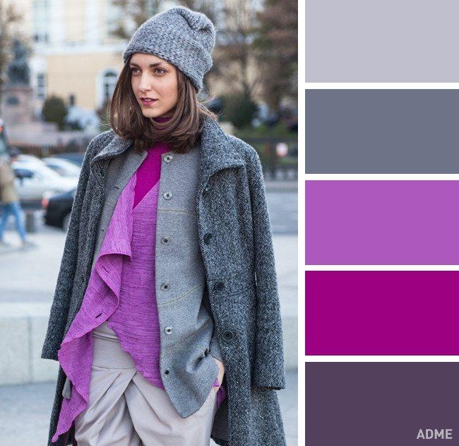15 veiksmīgākie krāsu salikumi ziemas apģērbā 4