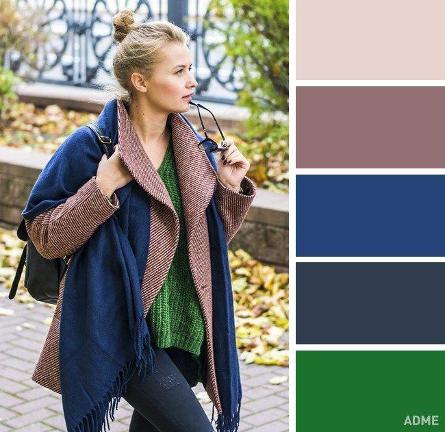 15 veiksmīgākie krāsu salikumi ziemas apģērbā 6
