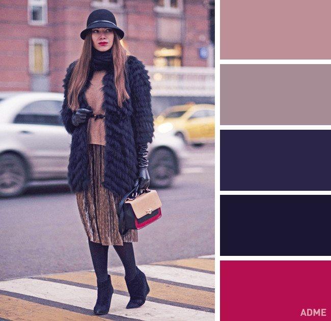 15 veiksmīgākie krāsu salikumi ziemas apģērbā 7