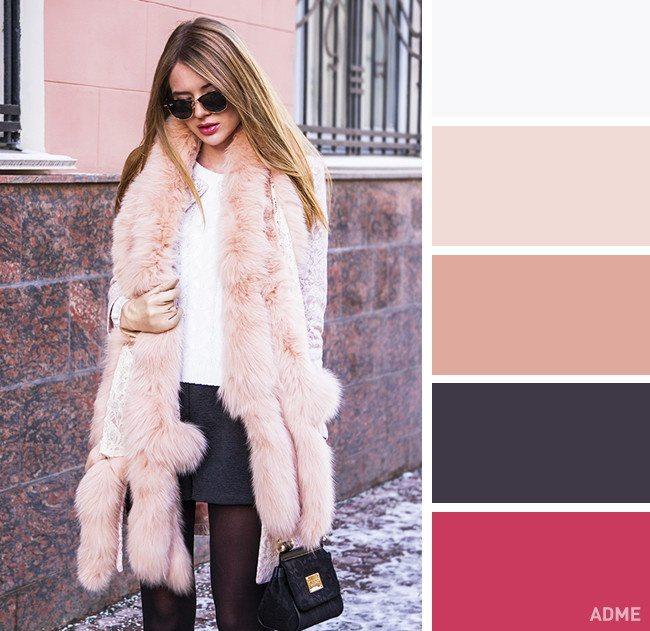 15 veiksmīgākie krāsu salikumi ziemas apģērbā 8