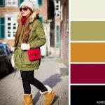 15 veiksmīgākie krāsu salikumi ziemas apģērbā 10