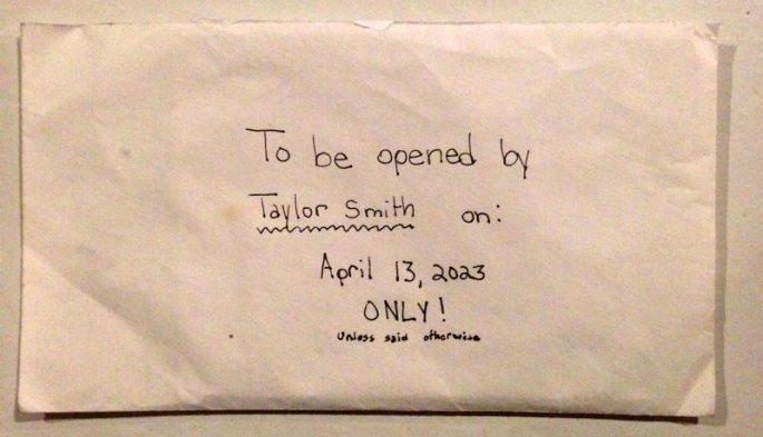 Vēstule, kuru vecāki atrada pēc meitas nāves, pārsteidza daudzus 5