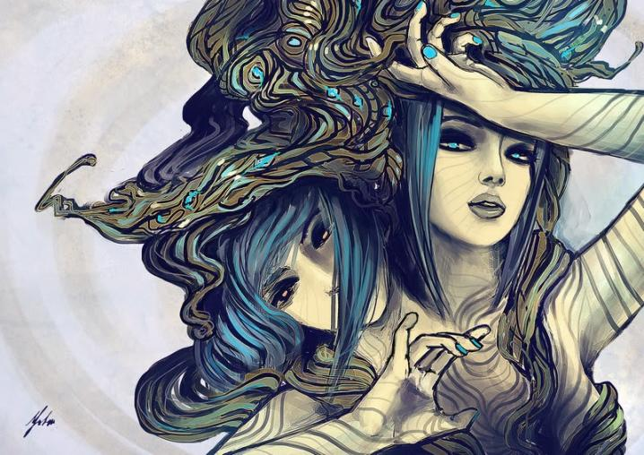 Sieviete-Dvīņi.  Viņām sekss un mīlestība ir vienādi termini