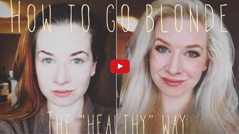 Kā iegūt blondo matu toni nekaitējot to veselībai