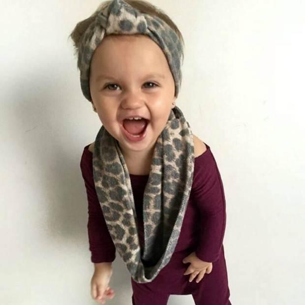 Šai mazulītei ir tikai 1.5 gadiņi, bet viņai jau ir 60 tūkstoši sekotāju 3