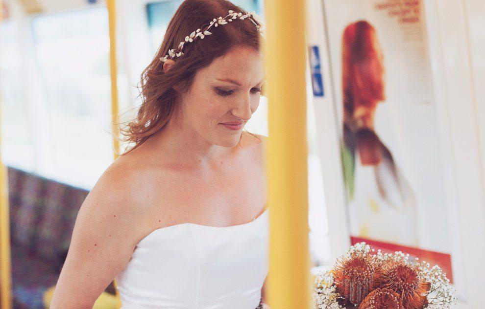 Šis pāris savas kāzas nosvinēja metro 5