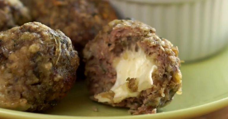 Sātīgās gaļas bumbiņas ar sieru: lieliska alternatīva ierastajām kotletēm 5