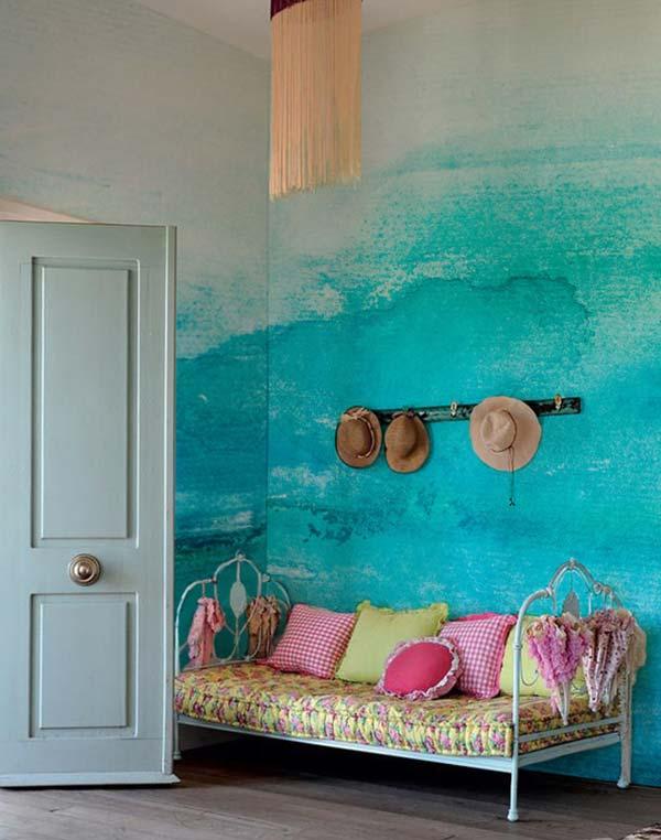 Akvareļu burvība uz jūsu sienām. Padari savu interjeru unikālu un neatkārtojamu 11