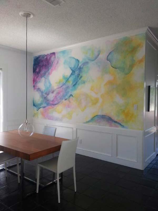 Akvareļu burvība uz jūsu sienām. Padari savu interjeru unikālu un neatkārtojamu 14