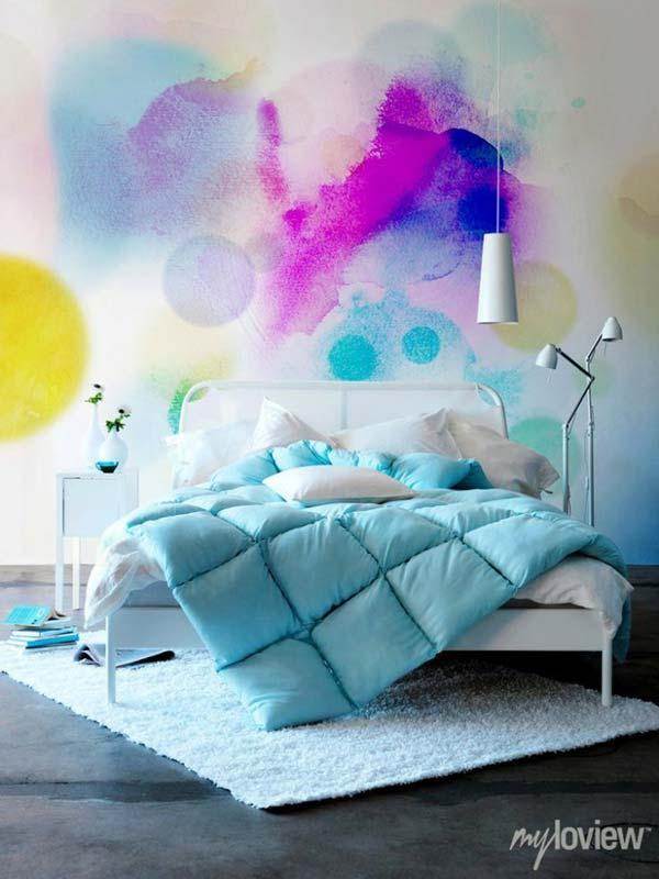 Akvareļu burvība uz jūsu sienām. Padari savu interjeru unikālu un neatkārtojamu 3