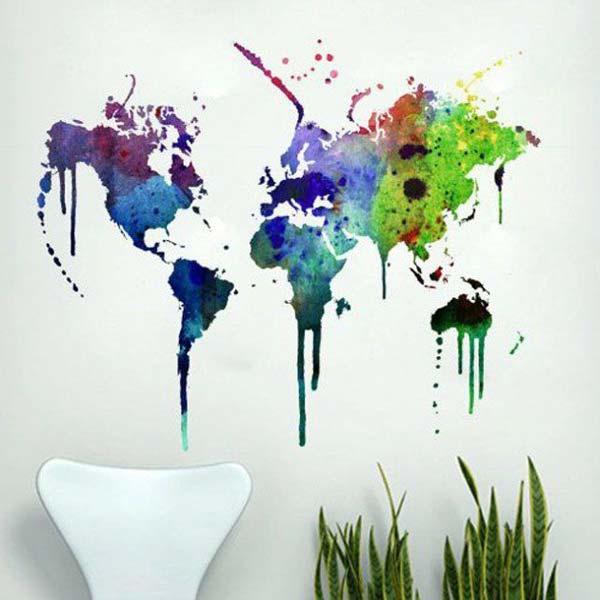 Akvareļu burvība uz jūsu sienām. Padari savu interjeru unikālu un neatkārtojamu 4