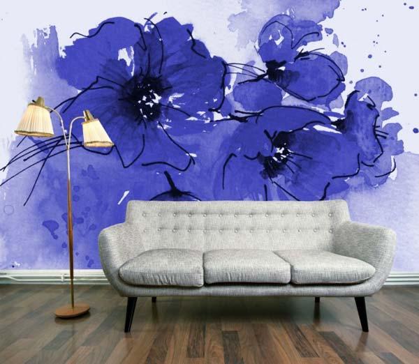 Akvareļu burvība uz jūsu sienām. Padari savu interjeru unikālu un neatkārtojamu 5