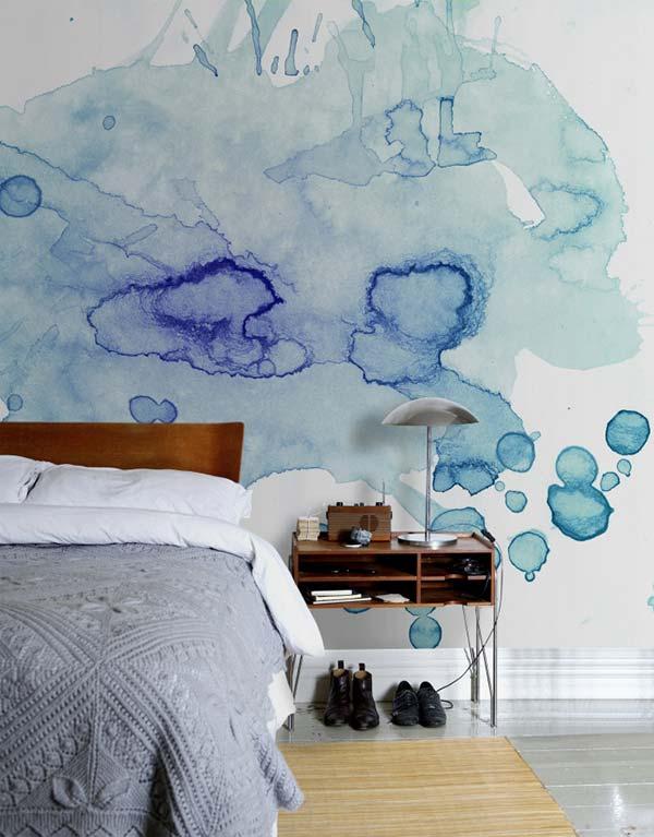 Akvareļu burvība uz jūsu sienām. Padari savu interjeru unikālu un neatkārtojamu 6