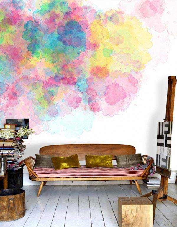 Akvareļu burvība uz jūsu sienām. Padari savu interjeru unikālu un neatkārtojamu 7