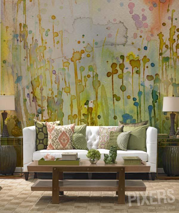 Akvareļu burvība uz jūsu sienām. Padari savu interjeru unikālu un neatkārtojamu 10