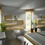 Pārkāpjot ierastā robežas: modernas tendences vannasistabas dizainā 4