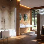 Pārkāpjot ierastā robežas: modernas tendences vannasistabas dizainā 6