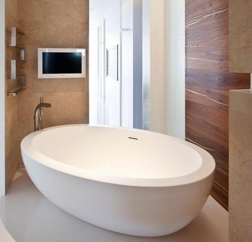 Pārkāpjot ierastā robežas: modernas tendences vannasistabas dizainā 1