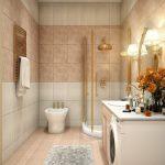 Pārkāpjot ierastā robežas: modernas tendences vannasistabas dizainā 48