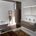 Pārkāpjot ierastā robežas: modernas tendences vannasistabas dizainā 21