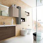 Pārkāpjot ierastā robežas: modernas tendences vannasistabas dizainā 63