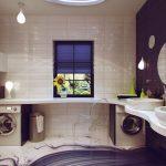 Pārkāpjot ierastā robežas: modernas tendences vannasistabas dizainā 77