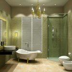 Pārkāpjot ierastā robežas: modernas tendences vannasistabas dizainā 78