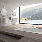 Pārkāpjot ierastā robežas: modernas tendences vannasistabas dizainā 79