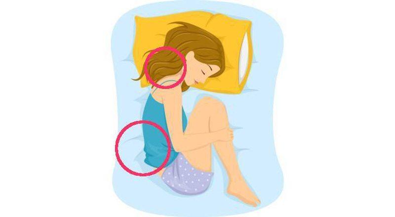 Labākās un sliktākās gulēšanas pozas veselīgam miegam 9