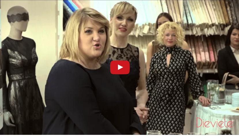 """Jaunatklātais veikals """"Lace To Love"""" Rīgas modes dāmām sevi piesaka ar vairāk nekā 600 mežģīņu veidiem (VIDEO)"""