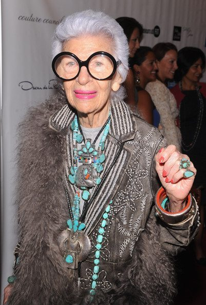 Iris Apfel 2012 Couture Council Museum FIT
