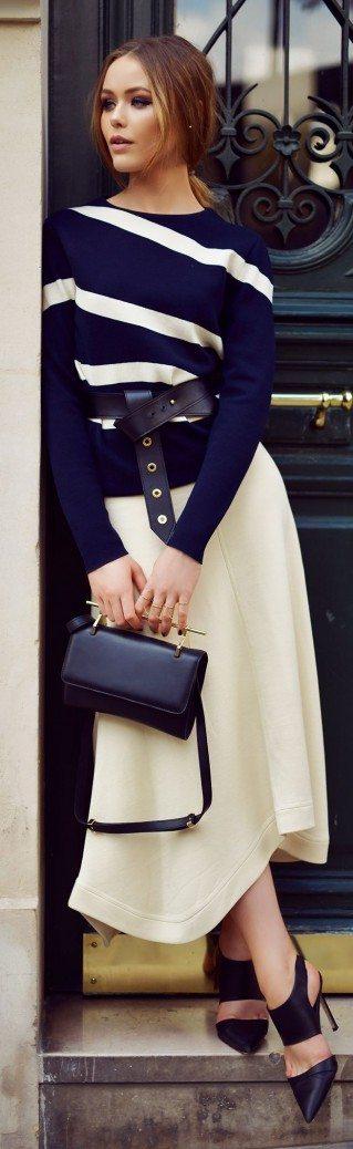 Viena no 2016.gada pavasara modes tendencēm apģērbā – platas līnijas 25