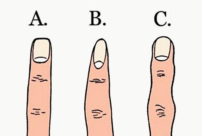 Pirkstu forma ļoti daudz var pastāstīt par jūsu personību