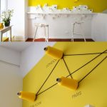 44-yellow-feature-wall