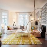 47-yellow-black-living-room-bubble-swing-665×527