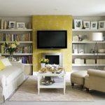 yellow-wallpaper-living-room-665×498