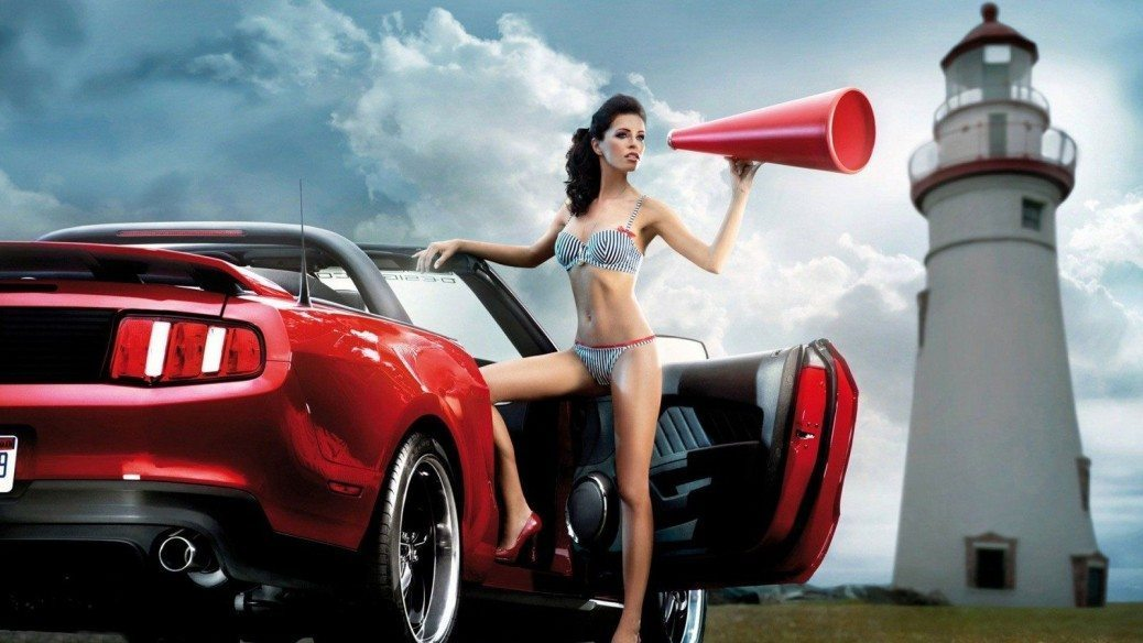 women-and-cars-car-red-woman-lighthouse-sexy-model-celebrity-us-com-137933
