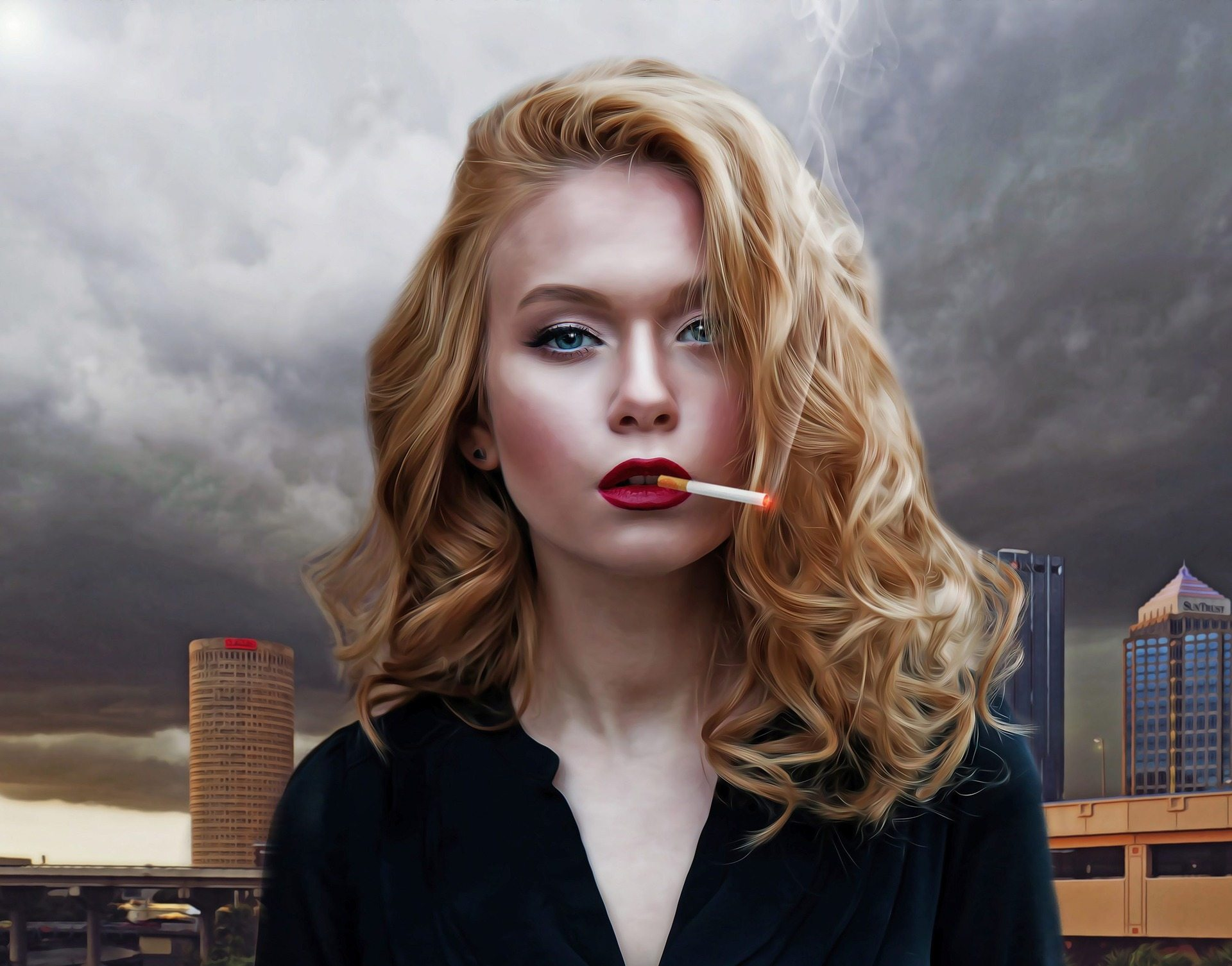 sieviete-cigarette
