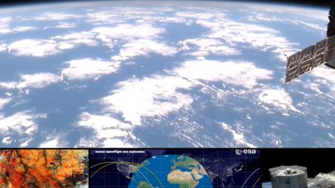Zeme no kosmosa skatpunkta